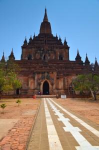 Vstup do pagody
