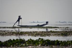 Inle Lake, ďalší zo zázrakov Barmy.