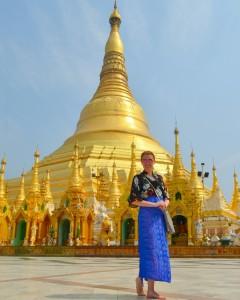 Tu mi poslúžila na dodržanie dresscodu pri vstupe do Shwegadon pagody v Yangone.