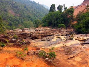 Vodopády bez vody