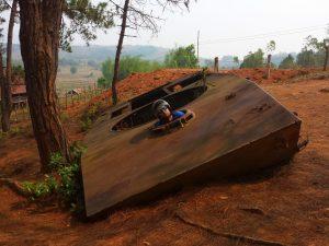 Rus Dmitrij v ruskom tanku
