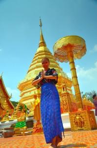 Wat Phran That Doi Suthep - chrámový arzenál