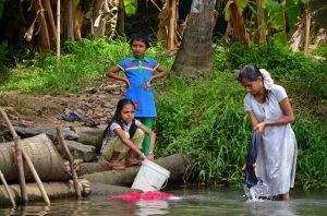 Bežný život v Kerale.