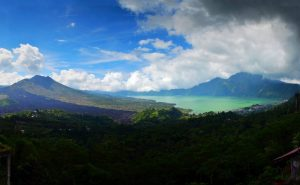 Batur s jazerom