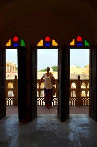 Interiér Hawa Mahal