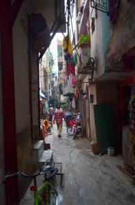 """Naša """"turistická"""" štvrť v Old Delhi..."""