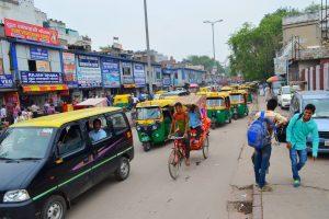 Premávka tu je oveľa menšia než v Bombaji.