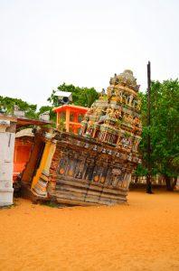 Hindu chrám po tsunami.