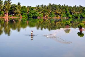 Batticaloa nám veľmi pripomína indickú Keralu.